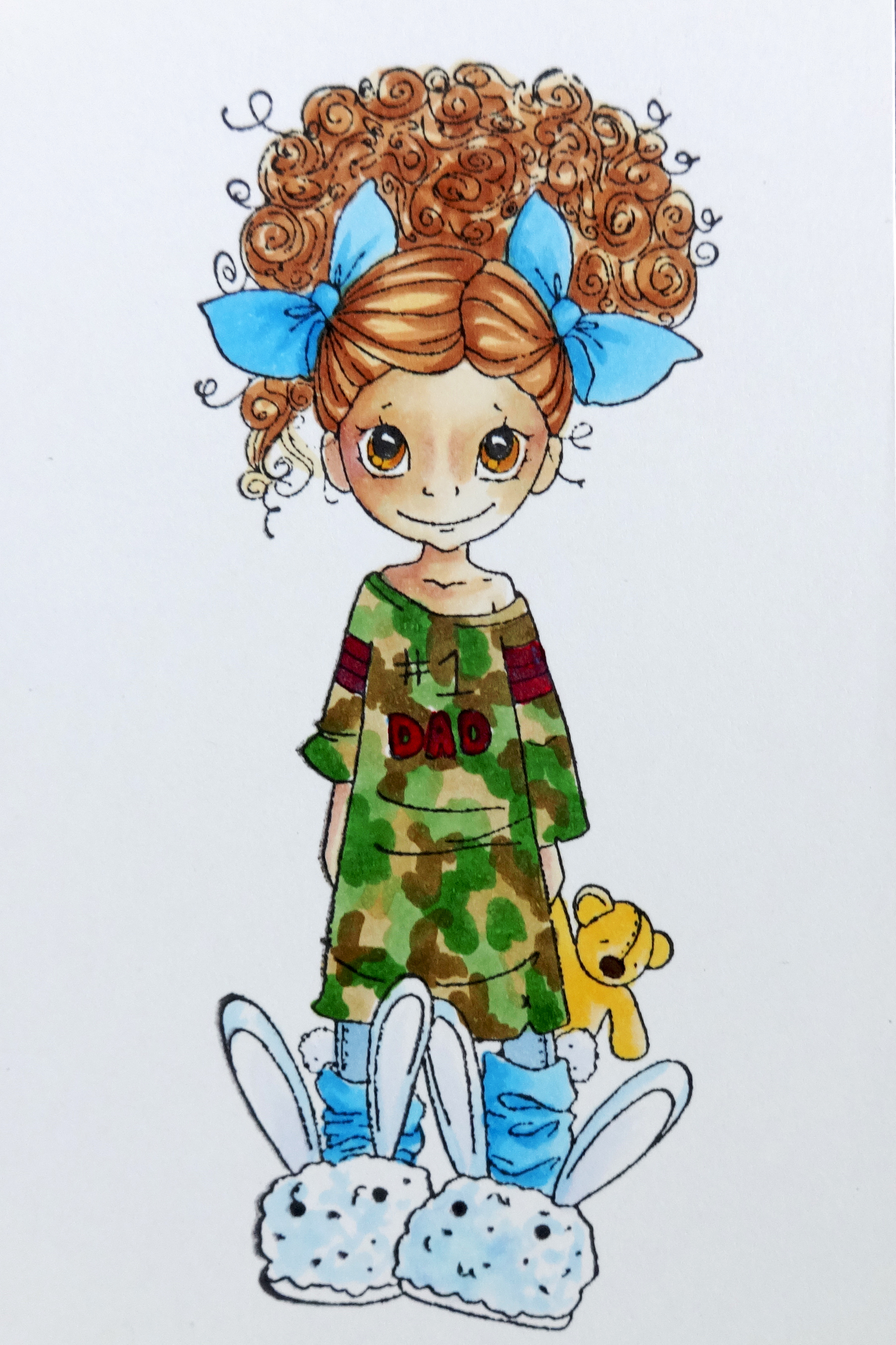 Copic Camouflage Print – Copic in the Craftroom